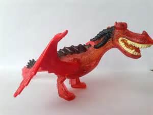 train dragon mcdonalds toy monstrous nightmare battery light ebay