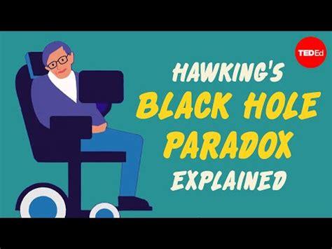 flipboard stephen hawkings black hole paradox explained
