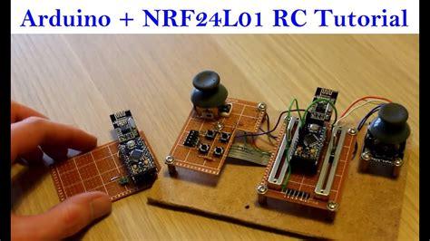 arduino  nrfl radio module beginner tutorial youtube