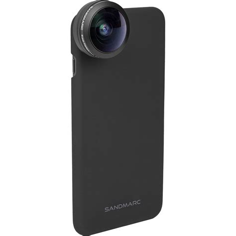 sandmarc fisheye lens for iphone 8 plus sm 256 b h photo