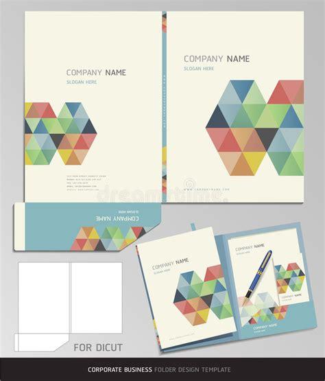 Corporate Identity Business Folder Template Stock Vector Illustration 38951134 File Folder Design Template