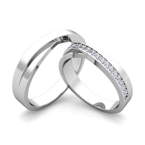 antique wedding bands for him matching wedding band infinity diamond wedding ring set