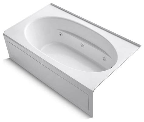 kohler jetted bathtubs windward 6 ft whirlpool tub in