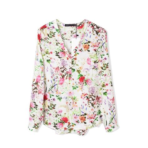 Blouse Flowery plus size maternity models picture