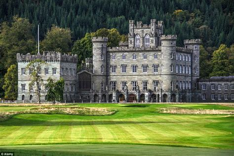 Interior Victorian Homes by Perthshire Castle Where Queen Victoria Honeymooned Turned