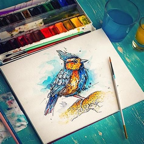 acrylic paint instagram 17 best images about watercolor on a 4