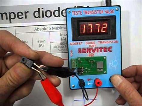 transistor 2n3055 falso 2n3055 original e falsificado doovi