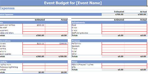 microsoft offices  event planning template