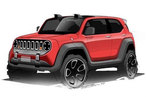 jeep crossover interior jeep c 232 la conferma sul nuovo crossover compatto rendering