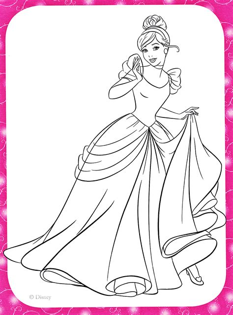 disney princess cinderella coloring pages games disney princess coloring pages cinderella coloring home