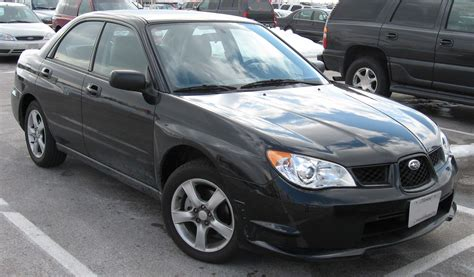 black subaru 2007 2007 subaru impreza 2 5i sedan subaru colors