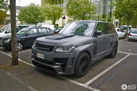 land rover hamann land rover hamann range rover myst 232 re 11 january 2016
