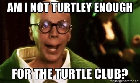 Spongebob Patrick Meme Generator - am i not turtley enough for the turtle club turtle club