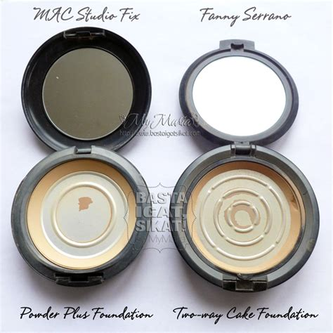 Mac Studio Fix Powder Foundation battle mac studio fix powder plus foundation vs