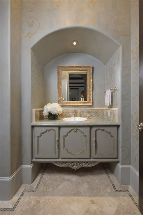Powder Bath Vanity The Granite Gurus Beautiful Powder Bath Ideas