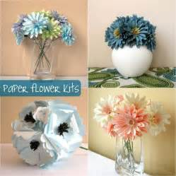 Paper Flower Kit - and out chic diy paper flower bouquets