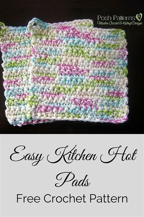 planning a family kitchen crochet patterns and tutorials 25 best ideas about crochet potholders on pinterest