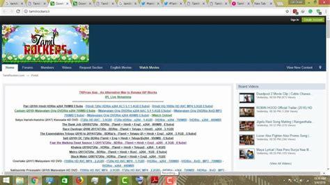 top tamilrockers  link   list