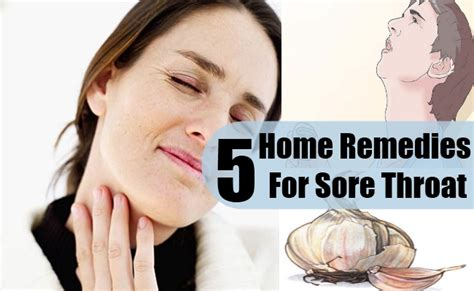 5 sore throat home remedies treatments and cure