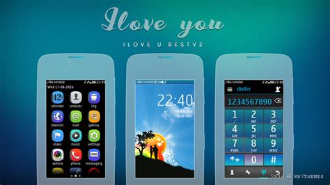 love themes nokia asha 311 ilove u best theme asha full touch asha 311 305 asha 305
