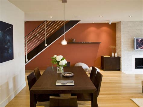 Orange Accent Wall Living Room by Orange Accent Wall Living Room Simple Home Decoration