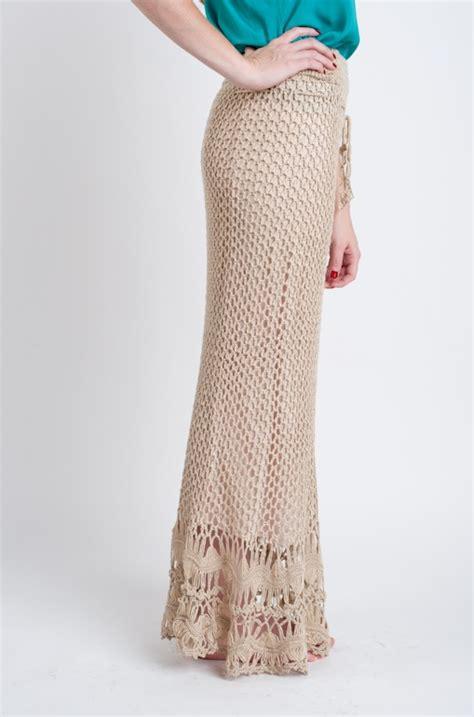 crochet maxi skirt by sans souci needlework