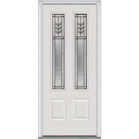 frosted glass interior doors home depot truporte grand 48 in x 80 in 2030 series 3 lite tempered