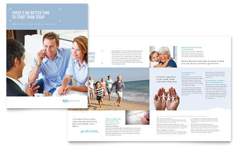 Wedding Consultant Brochure by Estate Planning Brochure Template Design
