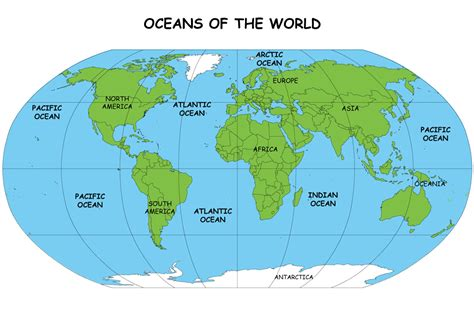map of the oceans lesson plan 3 let s learn maps