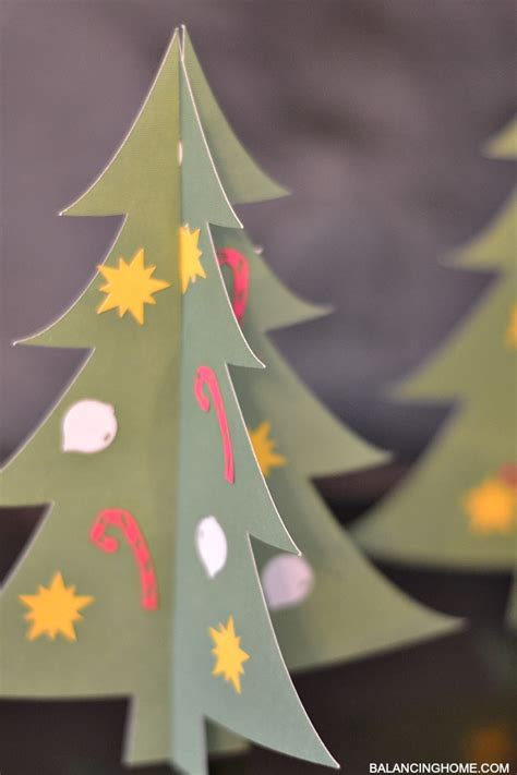 kid craft christmas tree bar balancing home with megan bray