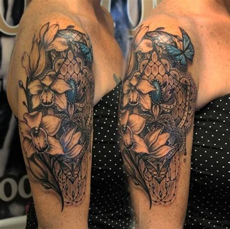 lace arm tattoo lace sleeve поиск в tattoos