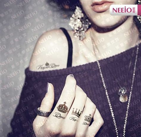 queen tattoo finger queen tattoo images designs
