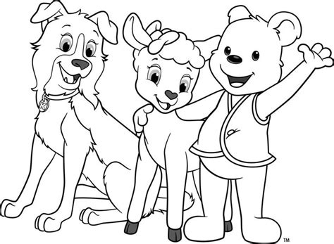 coloring pages of sheep dogs awana cubbies coloring sheets cubbies coloring page 3
