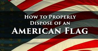 dispose of american flag properly search engine at