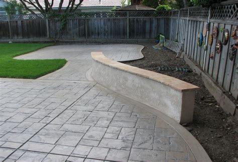 Concrete Services Calgary Concrete Patios Calgary Concrete Garden Walls