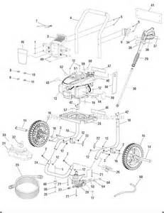 Subaru Pressure Washer Manual Homelite Ut80993a Parts List And Diagram
