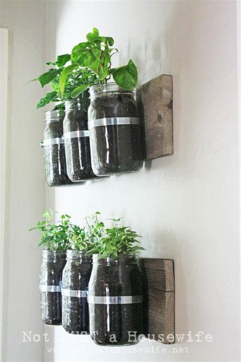 25 Best Diy Planters You Should Make For Your Home Page Jar Wall Planter