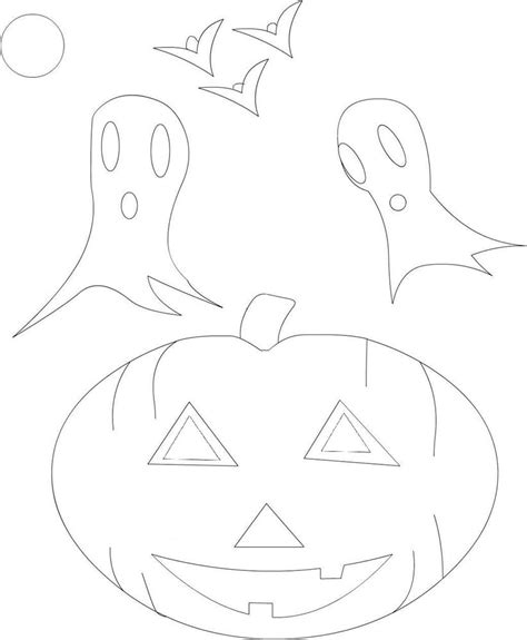 halloween coloring pages cutouts halloween coloring pages cutouts halloween printable