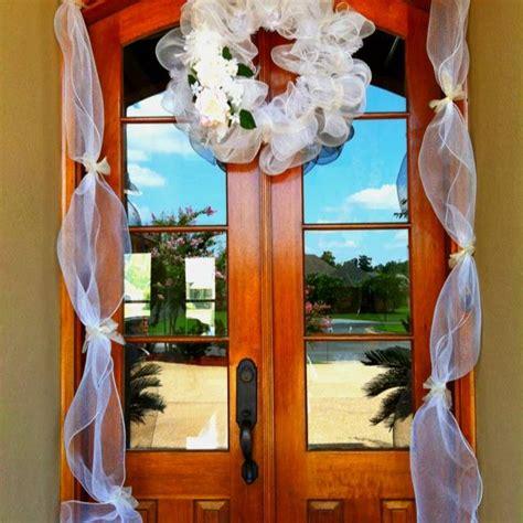 Wedding Shower Door Decor Ideas Wedding Fanatic Bridal Shower Door Decorations