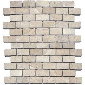 ms international chiaro brick 12 in x 12 in x 10 mm ms international tuscany beige 12 in x 12 in x 10 mm