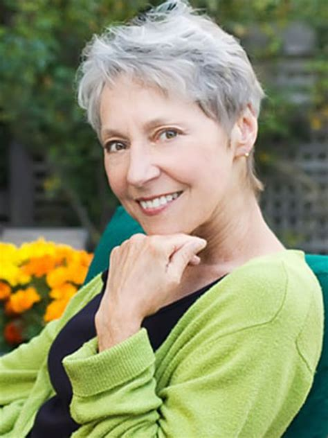 short haircuts for gray hair easy to manage photos of short haircuts for older women short