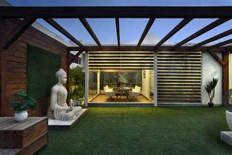 this office with terrace garden is brilliantly designed avg architecture and interiors the