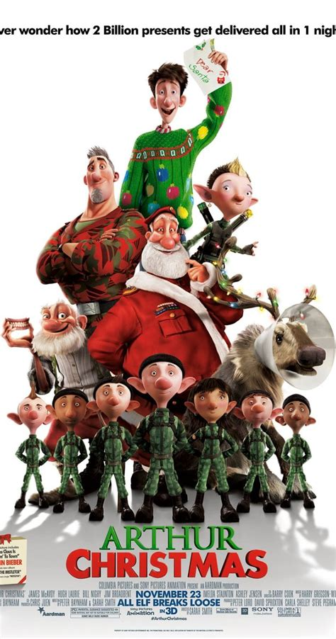 film cartoon christmas arthur christmas 2011 imdb