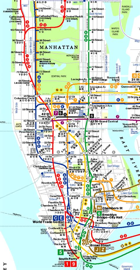 nyc maps new york city map nyc tourist