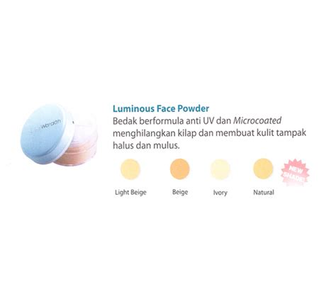 Bedak Tabur Wardah Luminous Powder 02 Beige Halal Cosmetics Singapore Wardah Everyday Luminous