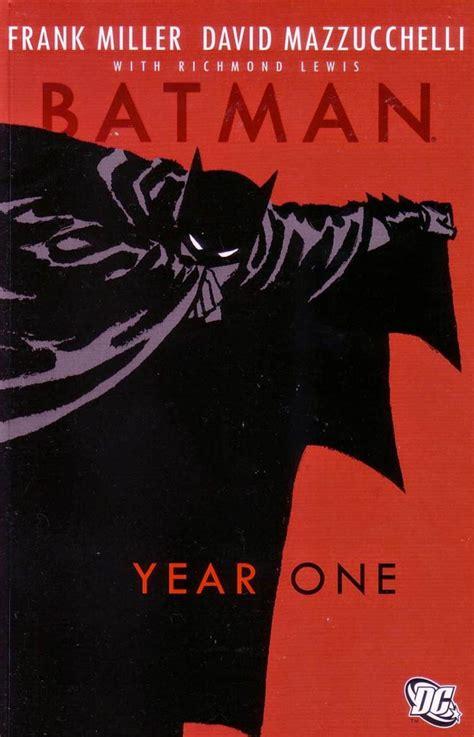libro batman year one batman a 241 o 1 frank miller y david mazzucchelli nido de historietas comics gratis en