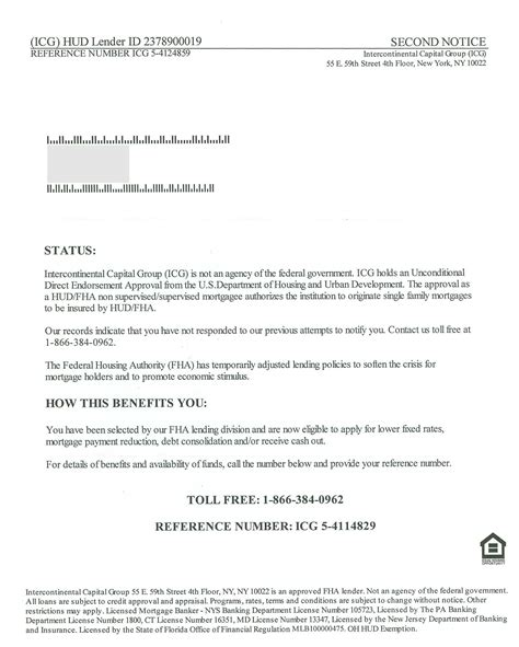 Business Letter Solicitation Template mortgage the illustrated primer