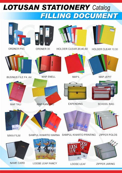Katalog Alat Tulis Kantor 2015 lotusan stationery