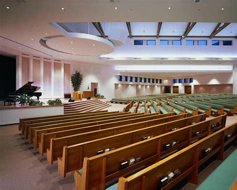 modern church pews