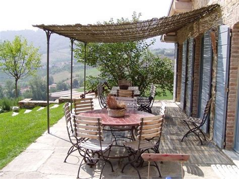 roquebrune wall mounted pergola by cagis